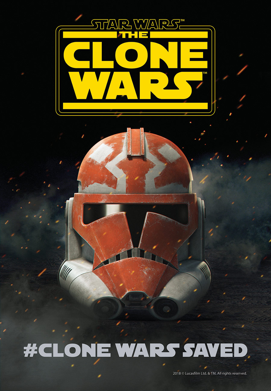 Clone Wars SDCC Poster